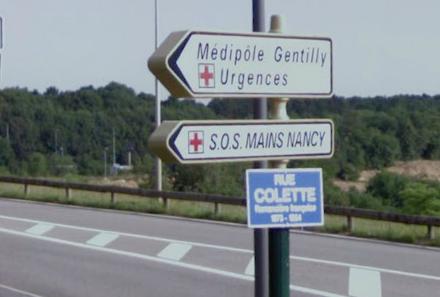 SOS Main Gentilly Nancy