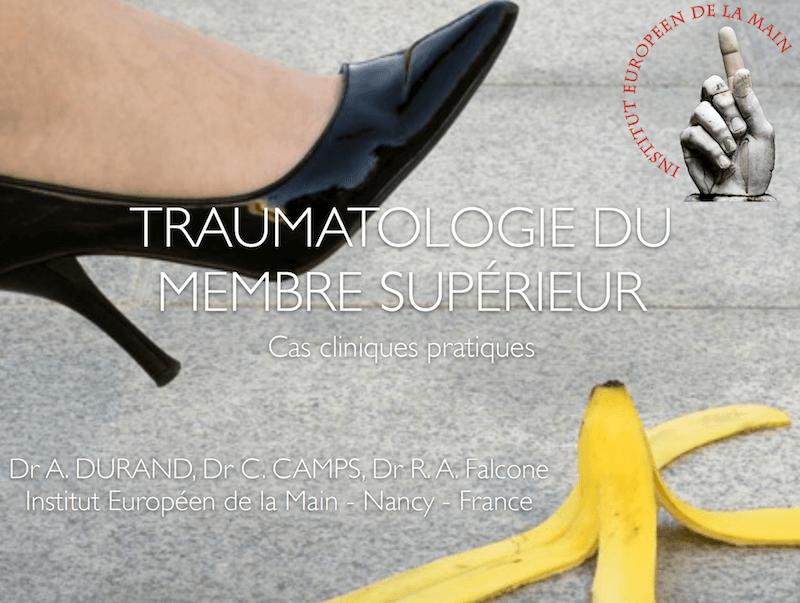 Traumatologie du membre supérieur - Cas cliniques